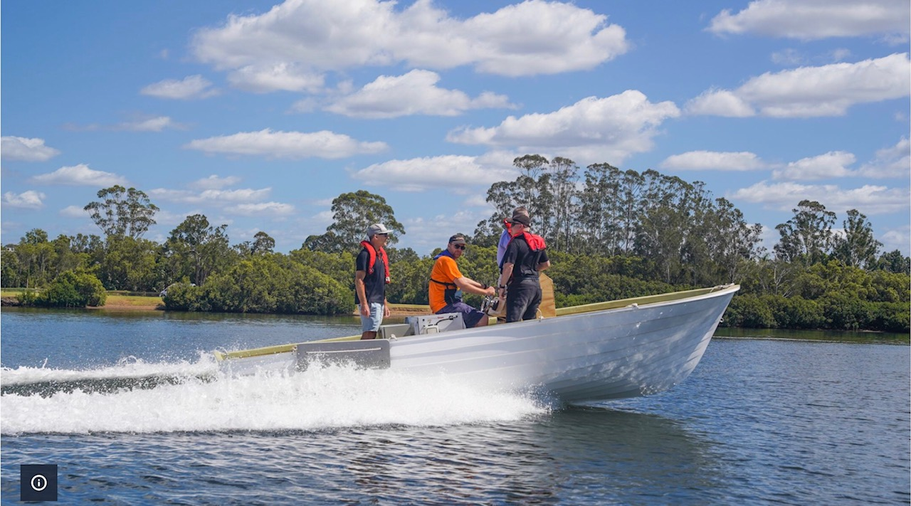 """Hybrid boat displays """"unlimited potential"""""""