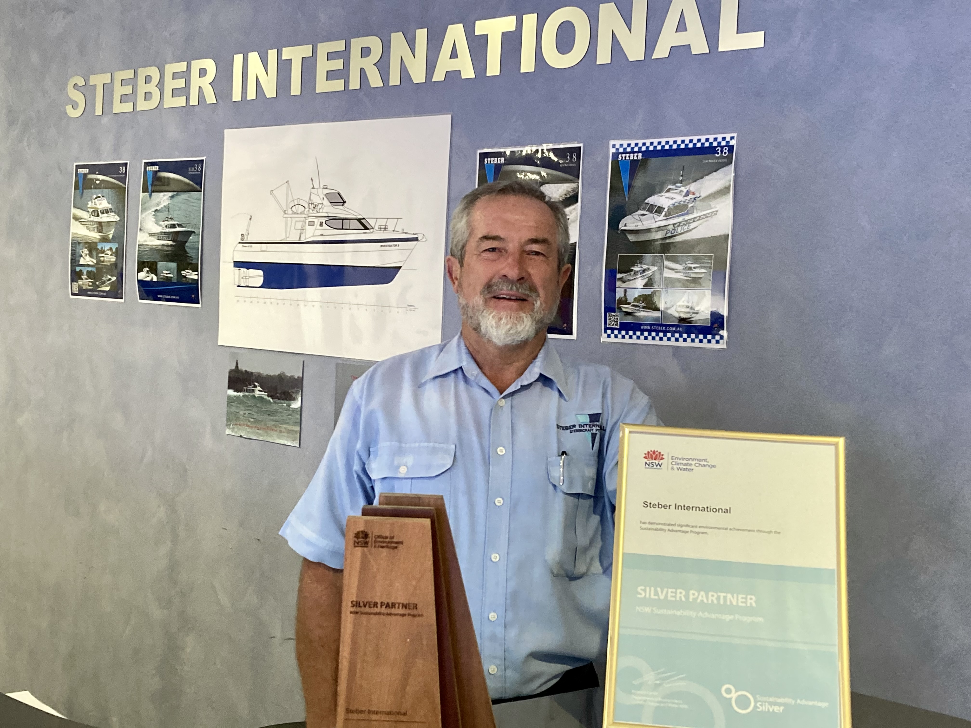 Steber International strives to maintain competitive edge
