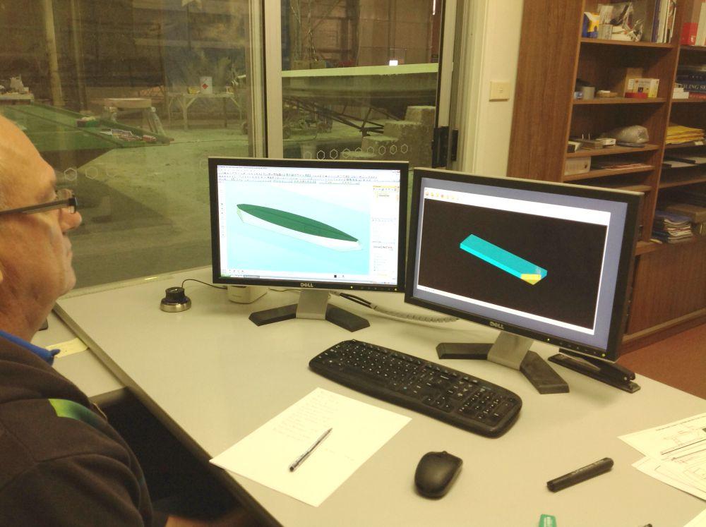 New Bluebottle models for hull testing