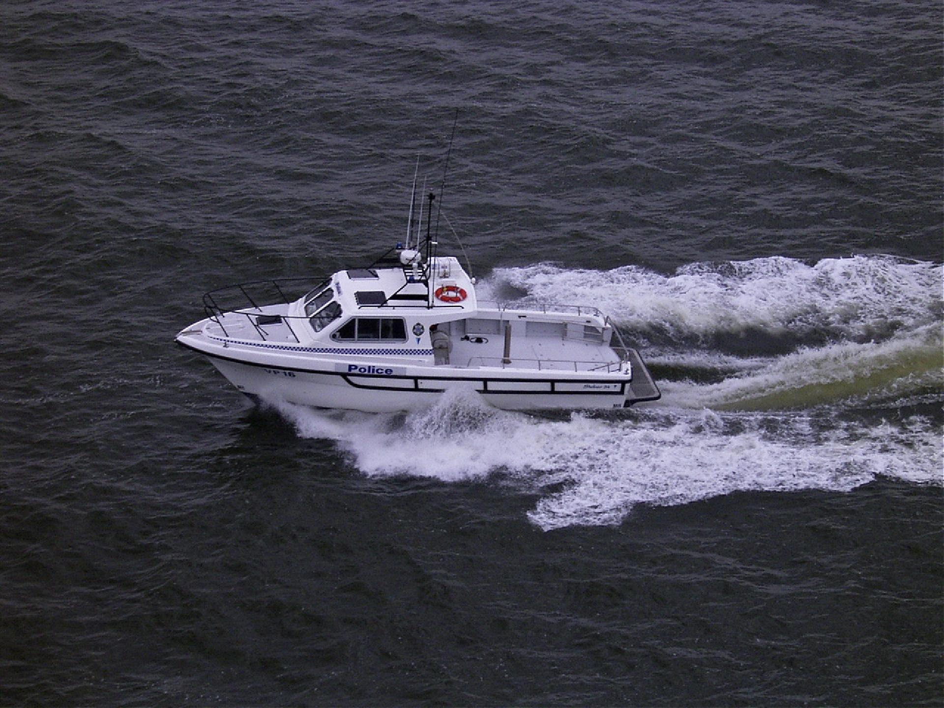 Steber 34ft Police Vessel