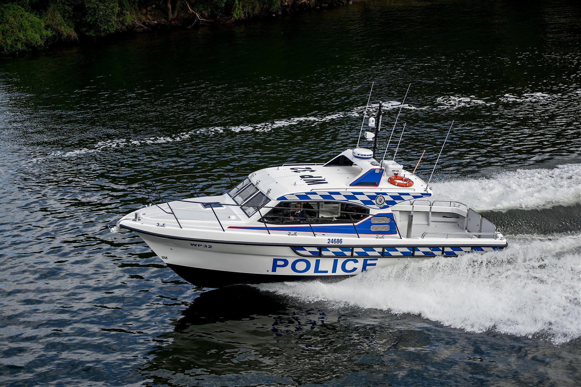 Steber 38ft Police SLR Vessel