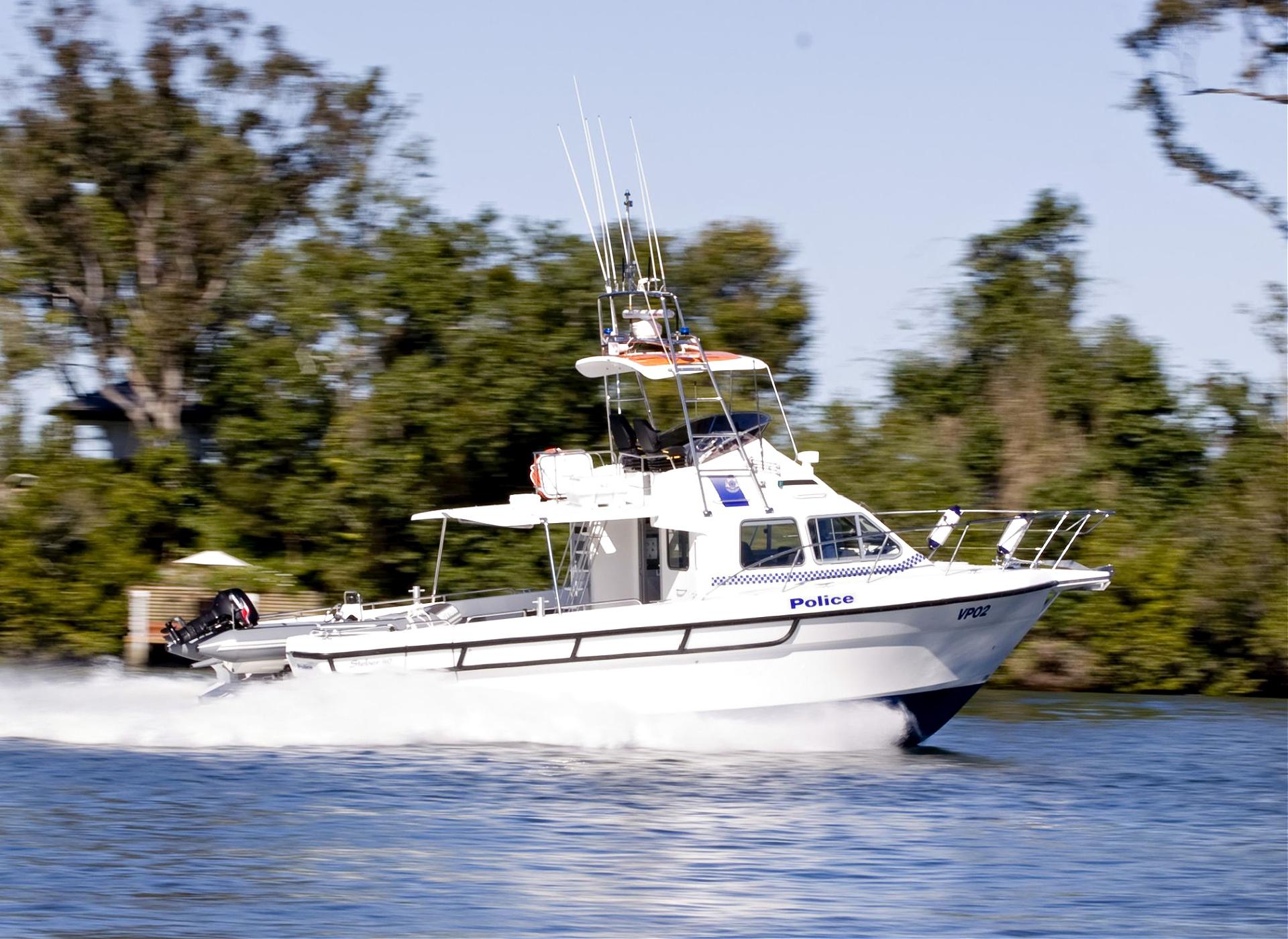 Steber 40ft Police Vessel - Victoria