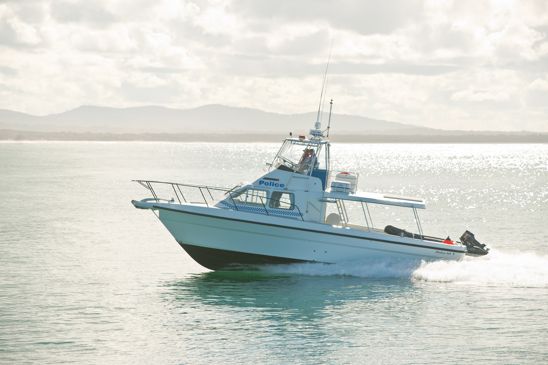 Steber 41 ft Police vessel